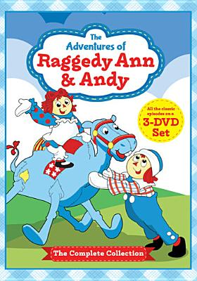ADVENTURES OF RAGGEDY ANN & ANDY:COMP BY ADVENTURES OF RAGGED (DVD)